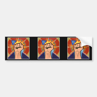 "Cut into 3 ""Eternal Vigilance"" Stickers Car Bumper Sticker"