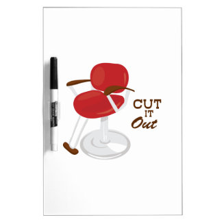 Cut It Out Dry-Erase Board