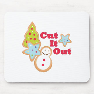 Cut It Out Mouse Pad