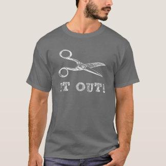 Cut It Out Scissors T-Shirt