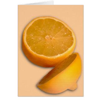 Cut Lemon Cards