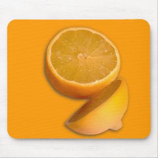 Cut Lemon Mouse Pads