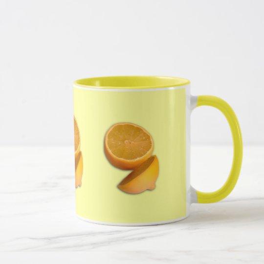 Cut Lemon Mug