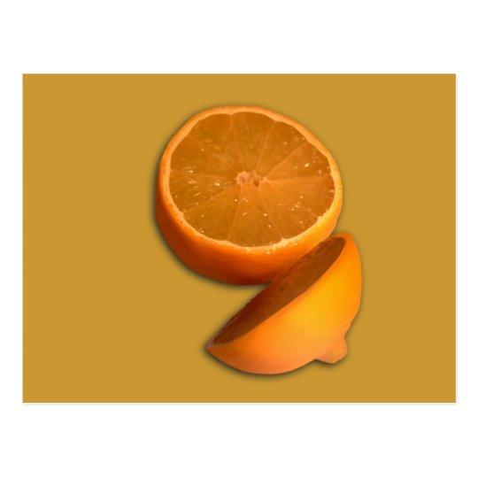 Cut Lemon Postcard
