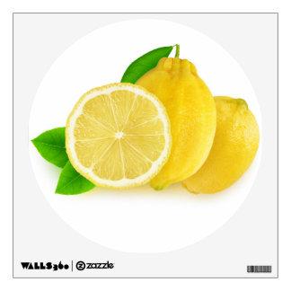 Cut lemons wall sticker
