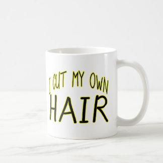 Cut My Own Hair Classic White Coffee Mug
