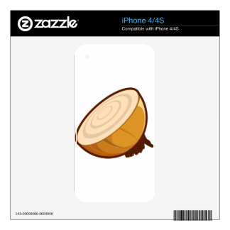 Cut Onion Decal For The iPhone 4