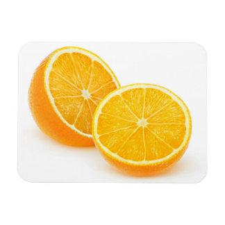 Cut orange magnet