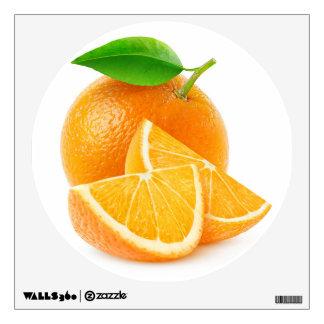 Cut oranges wall sticker