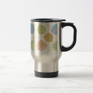 Cut Out Pastel Butterfly Travel Mug