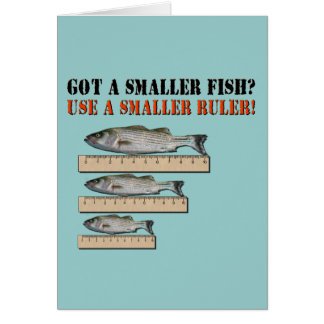 **Cut-Out Rulers!!** Fisherman Liar Card