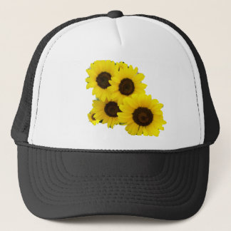 Cut Out Sunflowers Trucker Hat