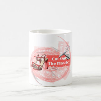 Cut Out The Hassle - Morphing Mug