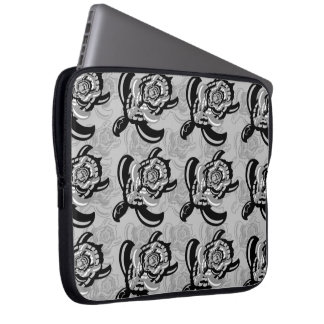 Cut Out Turtle Laptop Sleeve