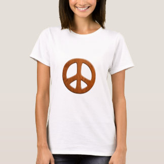 Cut-Out Wood Peace T-Shirt
