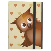Cut Owl iPad Air Covers