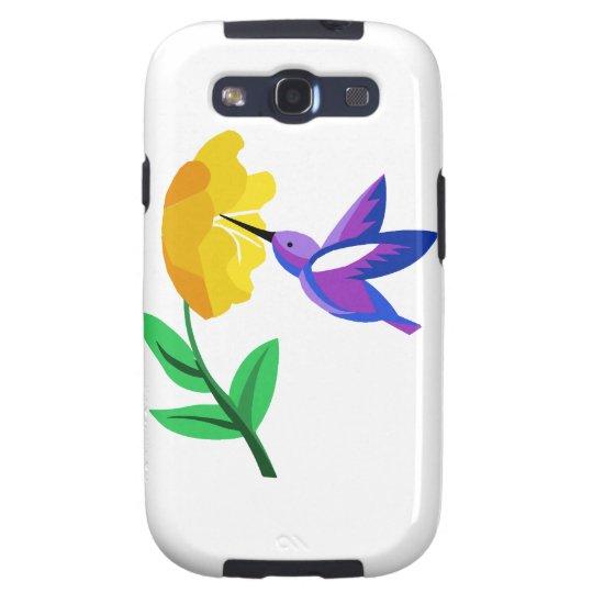 Cut Paper Hummingbird Galaxy S3 Cover