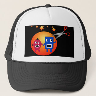 Cut & Paste Star Shapes Trucker Hat