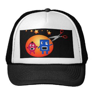 Cut & Paste Star Shapes Trucker Hat