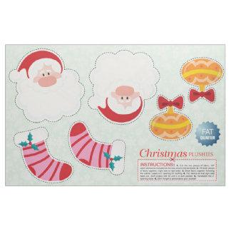 Cut & Sew Christmas Ornaments - DIY Plush Fabric