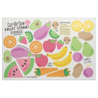 Cut & Sew Fruit Stand Fabric - Fun DIY Plushies