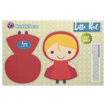 Cut & Sew Little Red Riding Hood - DIY Plush Fabric