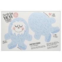 Cut & Sew Yeti Fabric - Fun DIY Plush