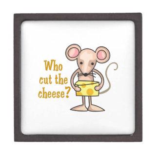 Cut The Cheese Premium Trinket Boxes
