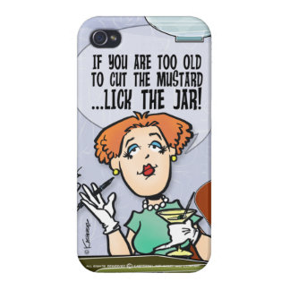 Cut The Mustard iPhone 4 Cover