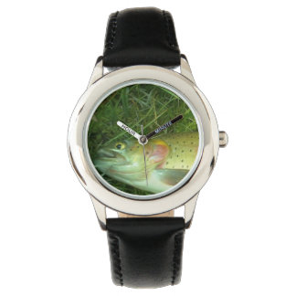 cut throat trout,  fly fishing watch