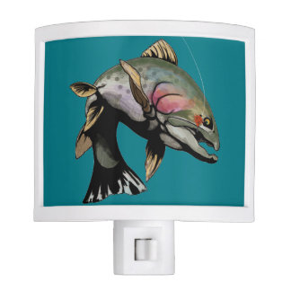 Cut Throat Trout Night Light