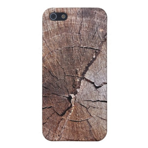 Cut Tree Cross-Section Texture 3 iPhone 4/4S Case