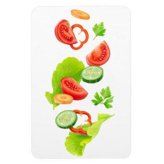 Cut vegetables magnet
