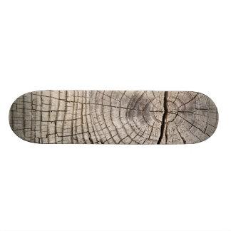 Cut wood cross-section texture Skateboard