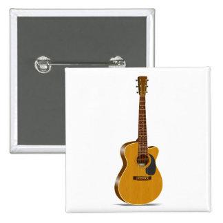 Cutaway Acoustic Guitar Pin