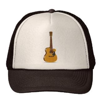 Cutaway Acoustic Guitar Trucker Hat