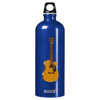 Cutaway Acoustic Guitar Water Bottle
