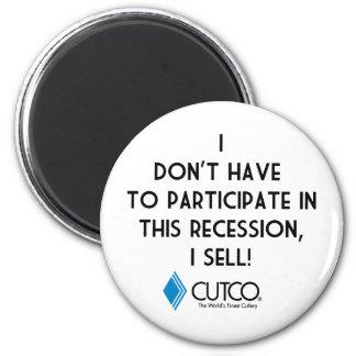 Cutco 2 Inch Round Magnet