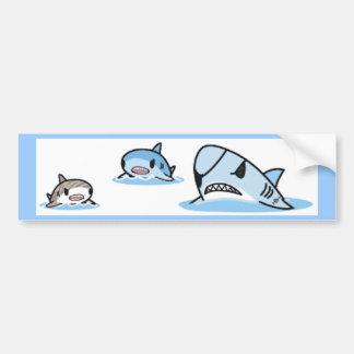 cute094 etiqueta de parachoque