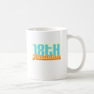 """Cute, """"18th Birthday"""" design Mug"""