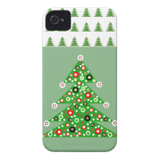 Cute 2013 Green Christmas Tree iPhone 4 Case Gift