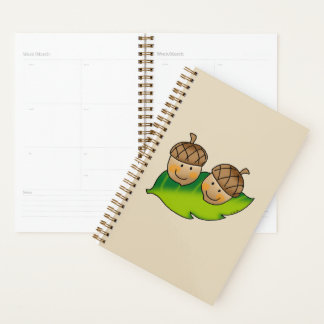 cute 2 acorns planner
