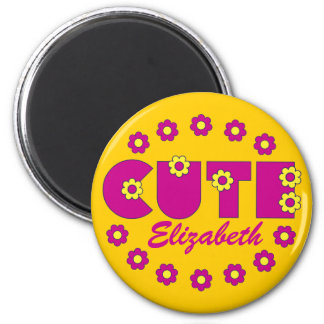 Cute 2 Inch Round Magnet