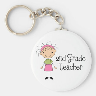 Cute 2nd Grade Keychain