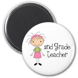 Cute 2nd Grade Magnet