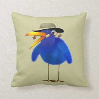 Cute 3d Australian Bird (editable) Pillow