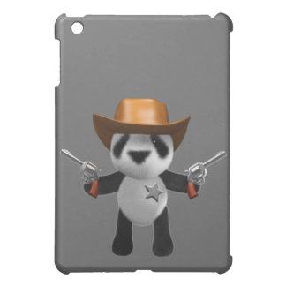 Cute 3d Baby Panda Sheriff Case For The iPad Mini