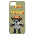 Cute 3d Baby Panda Sheriff iPhone 5 Cases