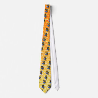 Cute 3d Bee Reading a Book (editable) Neck Tie