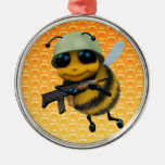 Cute 3d Bee Soldier Ornaments